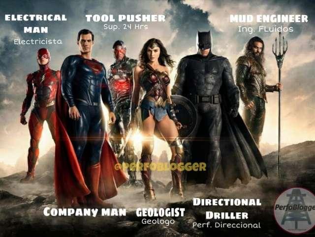 If Justice League were an Drilling Rig Crew. Are you here?  Si la Liga de la Justicia fuera personal de Taladro. Dinos si estas aqui... Like y Menciona a tus amigos 😊😁😉👍 #perfomemes #justiceleague #oilfieldmemes #batman #flash #superman #wonderful #woman #wonderwoman #aquaman #movies #film #memes #drillingcrew #oilfield #comics #mud #mudengineer #directionaldrilling #company #man #companyman #geologist #geology #electrical #electricista #toolpusher #dd