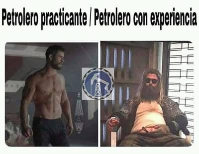 Alerta de #spoilers 😂 #avengers #endgame #perfomemes #oilfieldmemes #blogpetrolero
