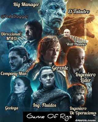 DRILLING IS COMING -  What if GAME OF THRONES were an Drilling Staff. #gameofthrones #memes #gotmemes #perfomemes #oilfieldmemes